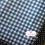 ผ้าคอตตอนไทย 100% 1/4 ม.(50x55ซม.) ลายตาราง โทนสีน้ำเงิน thumbnail 2