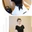 เดรสแฟชั่นสวยใส สไตล์สาวเกาหลี กับสีทูโทนขาวดำ เพิ่มโบว์ขนาดใหญ่ให้น่ารักสมวัย thumbnail 9