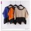 เสื้อแฟชั่นเกาหลี เบาสบายด้วยเนื้อผ้าชีฟอง แอบเซ็กซี่นิดๆ เนื้อผ้าแบบซีทรู thumbnail 6