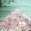 ผ้าคอตตอนไทย 100% 1/4 ม.(50x55ซม.) พื้นสีชมพู ลายดอกกุหลาบวินเทจ thumbnail 2
