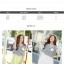 เดรสสั้นเกาหลี สไตล์ผ้า 2 ชิ้น ด้วยเสื้อลายขวางตัดกับสีพื้น เรียบง่าย ลงตัว thumbnail 3