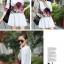 เดรสสั้นเกาหลี แขนยาว ลายดอกไม้สวยหวาน เข้ากับชุดสีพื้นได้อย่างลงตัว thumbnail 16