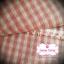 ผ้าทอญี่ปุ่น 1/4ม.(50x55ซม.)ลายตารางสีแดง thumbnail 1