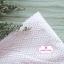 ผ้าคอตตอนไทย 100% 1/4 ม.(50x55ซม.) ลายเกล็ดปลาญี่ปุ่น สีชมพู thumbnail 1