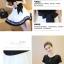 เดรสแฟชั่นสวยใส สไตล์สาวเกาหลี กับสีทูโทนขาวดำ เพิ่มโบว์ขนาดใหญ่ให้น่ารักสมวัย thumbnail 3