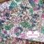 ผ้าคอตตอน 100% 1/4 ม.(50x55ซม.) ลายดอกไม้ โทนสีขาวชมพู thumbnail 1