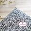 ผ้าคอตตอนไทย 100% 1/4 ม.(50x55ซม.) ลายใบไม้เล็ก โทนสีเทา thumbnail 2