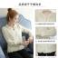 เสื้อแฟชั่นเกาหลี แขนยาว แต่งลายผ้าแบบริ้วๆ ดูหรูหรา คุ้มราคา thumbnail 7