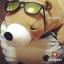 *ใย3D* ตุ๊กตาหมีขี้เซา Sleepy bear สีช็อคโกแลตฮอกไกโด thumbnail 3