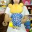 ตุ๊กตา ริลัคคุมะ ชุดกิโมโนสีน้ำเงิน 17 นิ้ว thumbnail 3