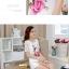 เสื้อแฟชั่นเกาหลี สกรีนลายสวยๆ แต่งแขนด้วยผ้าซีทรูลายโดดเด่น thumbnail 7
