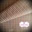 ผ้าทอญี่ปุ่น 1/4ม.(50x55ซม.) ทอลายตาราง thumbnail 1