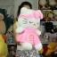 ตุ๊กตาคิตตี้ขนนุ่ม คาดผม M 18 นิ้ว thumbnail 2