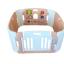 คอกกั้นเด็ก Haenim new สี Rose Gold รุ่น Playgame ไซส์ S thumbnail 1