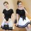 เดรสแฟชั่นสวยใส สไตล์สาวเกาหลี กับสีทูโทนขาวดำ เพิ่มโบว์ขนาดใหญ่ให้น่ารักสมวัย thumbnail 1