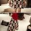 ชุดเสื้อและกระโปรง ต้อนรับหน้าร้อนด้วยสีแดงจี๊ดๆ แขน 3 ส่วน เข้ากับกระโปรงลายน่ารักๆ thumbnail 11