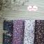ผ้าคอตตอนไทย 100% 1/4 ม.(50x55ซม.) พื้นสีขาว ลายดอกไม้เล็ก thumbnail 3