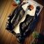 *Pre Order* Jacket locomotive leather jacket แฟชั่นญี่ปุ่น size M-5XL