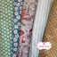 Set 5 ชิ้น ผ้าคอตตอนไทย 4 ลายและผ้าแคนวาสลายจุด โทนสีเขียว แต่ละชิ้นขนาด 27.5×50 ซม. thumbnail 1