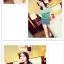 เสื้อแฟชั่นเกาหลี สไตล์ทูโทน สวมใส่สบาย มาพร้อมกระเป๋าเสื้อด้านหน้า thumbnail 7