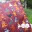 ผ้าคอตตอนไทย 100% 1/4ม.(50x55ซม.) ลายตุ๊กตาหมี พื้นสีม่วง thumbnail 1