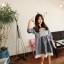 เดรสสั้นเกาหลีมาใหม่ โปร่ง ใส่สบาย น่ารักแบบสาวหวานสุดๆ thumbnail 11