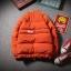 *Pre Order*Winter Spring new stand-up pu leather jacket men plus แฟชั่นญี่ปุ่น size M-5XL