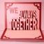 การ์ด We Always Together ใส่รูปได้ thumbnail 4