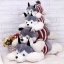 ตุ๊กตาสุนัขไซบีเรียน สวมสเวตเตอร์ thumbnail 4