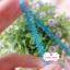 ลูกไม้แต่ง สีฟ้าเข้ม แบ่งขายเป็นหลา (90 ซม.) thumbnail 5