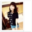 เสื้อแฟชั่นเกาหลี มาในลวดลายสุด chic คอเสื้อแบบคอวี สีทูโทน thumbnail 1