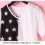 เสื้อแฟชั่นเกาหลี มาในลวดลายสุด chic คอเสื้อแบบคอวี สีทูโทน thumbnail 9