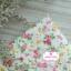 ผ้าคอตตอนไทย 100% 1/4 ม.(50x55ซม.) ลายดอกไม้ พื้นสีครีม thumbnail 1