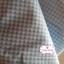 ผ้าคอตตอนไทย 100% 1/4 เมตร(50x55ซม.) ลายตารางเล็กสีฟ้า thumbnail 2