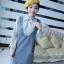 เดรสสั้นเกาหลีใหม่ ต้อนรับหน้าหนาวด้วยเดรสแขนยาวที่มาพร้อมกับเสื้อกั๊กกระโปรง thumbnail 3