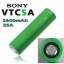 Sony VTC5A US18650VTC5A 2600mAh continuous 35A discharge (ของแท้) thumbnail 1