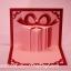A39 การ์ดป๊อปอัพไดคัท กล่องของขวัญสีชมพู thumbnail 2