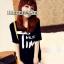เสื้อยืดแฟชั่นเกาหลี พิมพ์ลายสกรีนด้านหน้าเสื้อ สวมใส่สบาย มีให้เลือกถึง 2 สี thumbnail 1