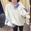 เสื้อกันหนาวแฟชั่น ดีไซน์แบบใส่ทับ 2 ตัว สวยเก๋ แบบสาวยุคใหม่ thumbnail 6