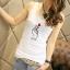 เสื้อกล้ามสีพื้น น่ารักๆ อินเทรนด์กับลาย mini heart thumbnail 6