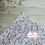 ผ้าคอตตอนไทย 100% 1/4 ม.(50x55ซม.) พื้นสีขาว ลายดอกไม้เล็ก thumbnail 1