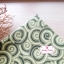 ผ้าคอตตอนไทย 100% 1/4ม.(50x55ซม.) ลายก้นหอย โทนสีเขียว thumbnail 1