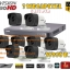 ชุดติดตั้งกล้องวงจรปิด DS-2CE16F7T-IT (3ล้าน) ir20เมตร ,8ตัว (dvr8ch., สาย rg6มีไฟ 200เมตร, hdd.2TB) thumbnail 1