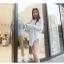 เสื้อแฟชั่นเกาหลีแขนยาว เบาสบายด้วยเนื้อผ้า chiffon thumbnail 4
