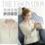 เสื้อแฟชั่นเกาหลี แขนยาว แต่งลายผ้าแบบริ้วๆ ดูหรูหรา คุ้มราคา thumbnail 5