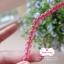 ลูกไม้แต่ง สีชมพูเข้ม แบ่งขายเป็นหลา (90 ซม.) thumbnail 4
