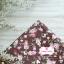 ผ้าคอตตอนไทย 100% 1/4 ม.(50x55ซม.) พื้นน้ำตาล ลายดอกไม้ thumbnail 2