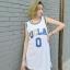 *Pre Order*เสื้อกล้าม Basketball ผ้าไนล่อนหลวมใส่สบาย,ไม่ร้อน size S-L