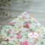 ผ้าคอตตอนไทย 100% 1/4 ม.(50x55ซม.) ลายดอกไม้ พื้นสีครีม thumbnail 2