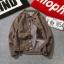 *Pre Order*Winter new wild casual jacket men's large plus แฟชั่นญี่ปุ่น size M-5XL